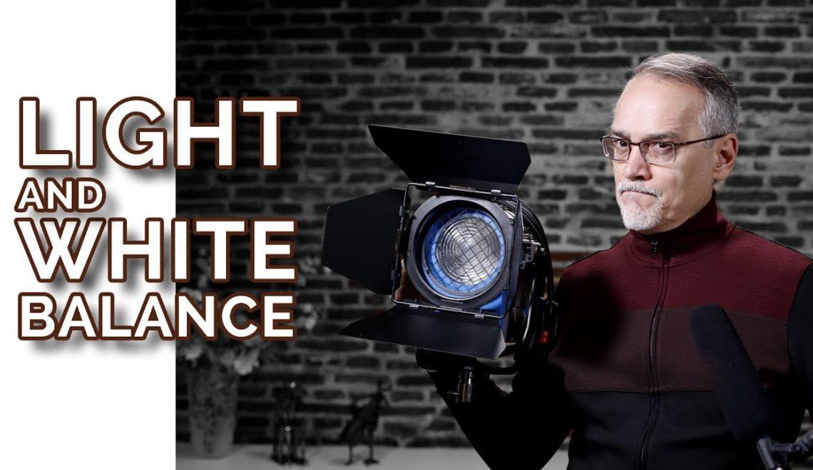 מיקום תאורה ואיזון לבן
