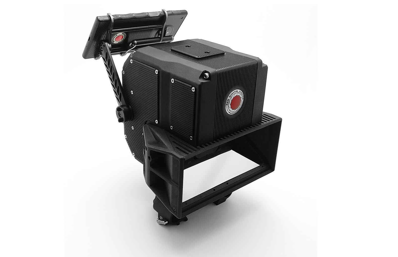 פרטים ראשון על יחידת הצילום 3D לטלפון של RED