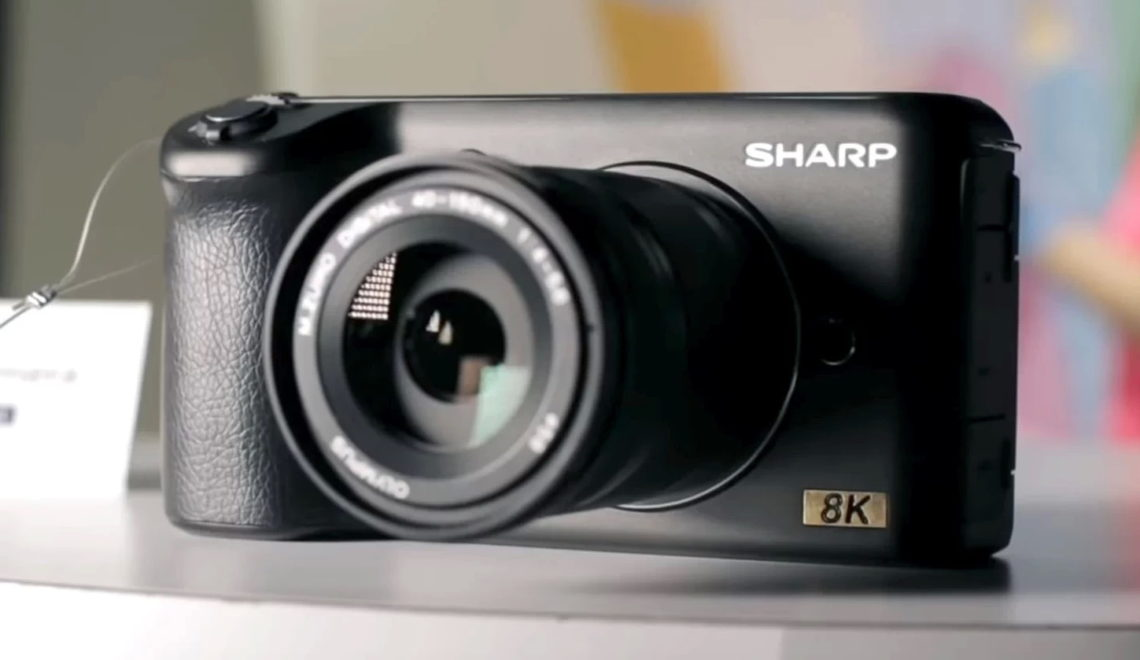 מצלמת 8kהראשונה בעולם בפחות מ-5,000 דולר