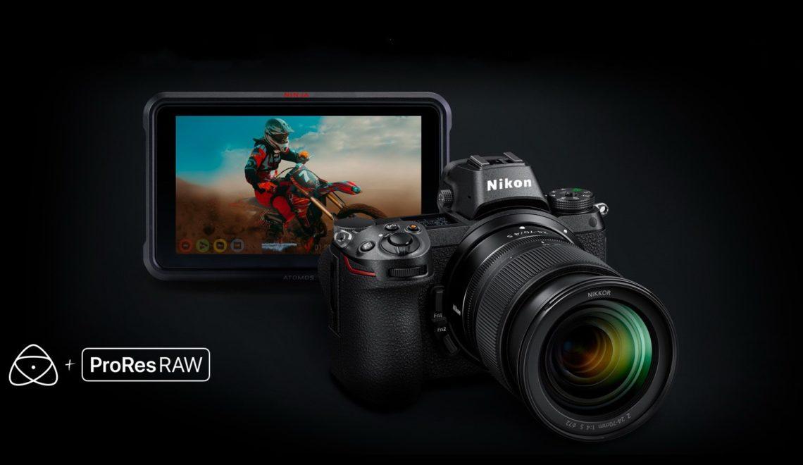 הקלטת ProRes RAW במצלמות Z6/7 של ניקון