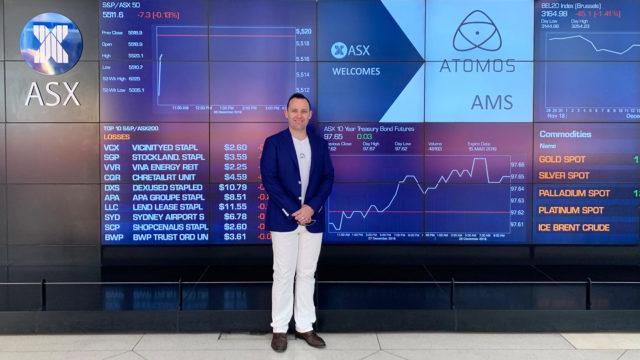 חברת Atomos החלה להיסחר בבורסה