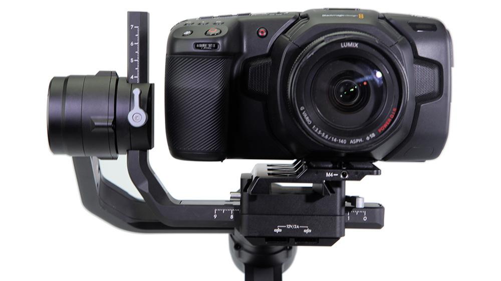 חיבור של מצלמת הפוקט למייצב Ronin S