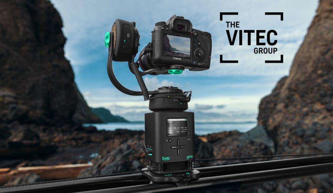 קבוצת Vitec רוכשת את יצרנית הסליידרים Syrp