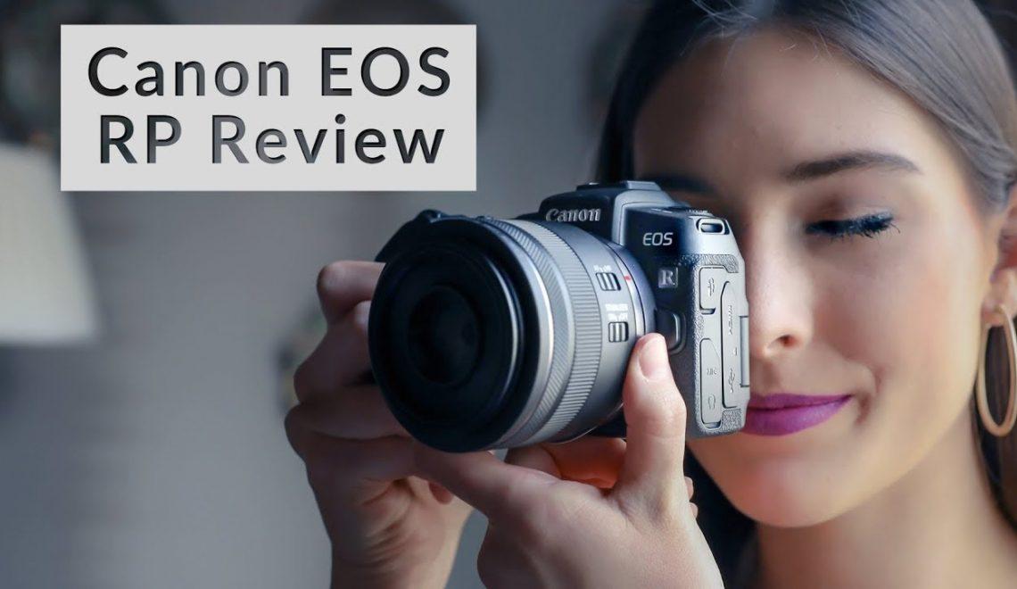 סקירת וידאו וסטילס של EOS RP