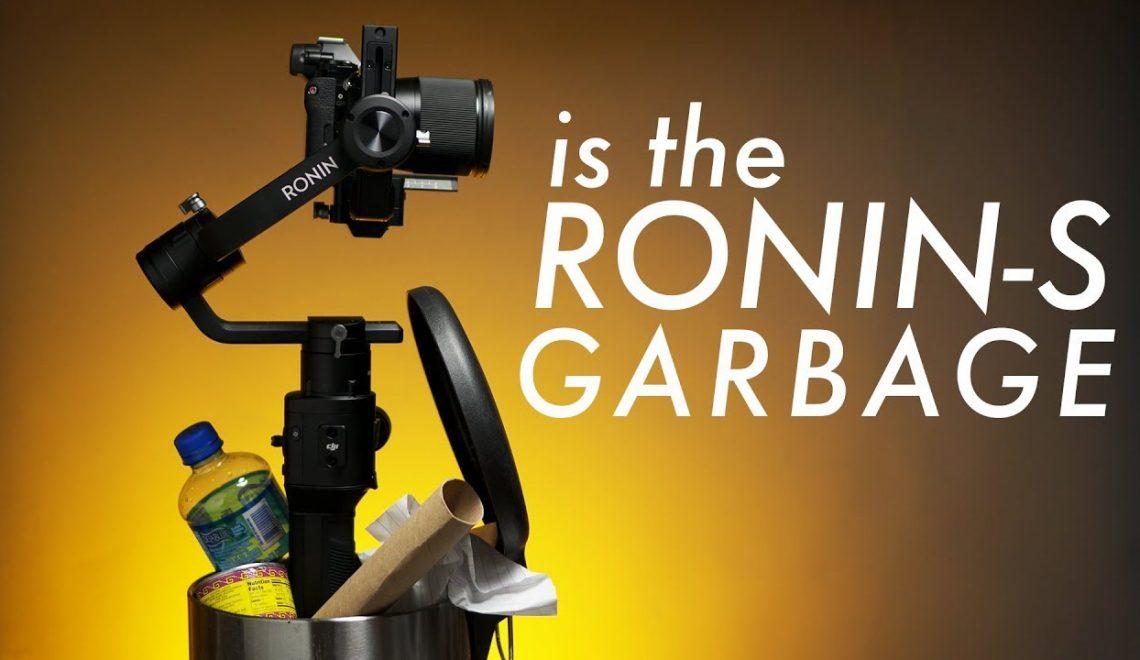 מספר דברים שצריך לדעת לפני שרוכשים את ה-Ronin S