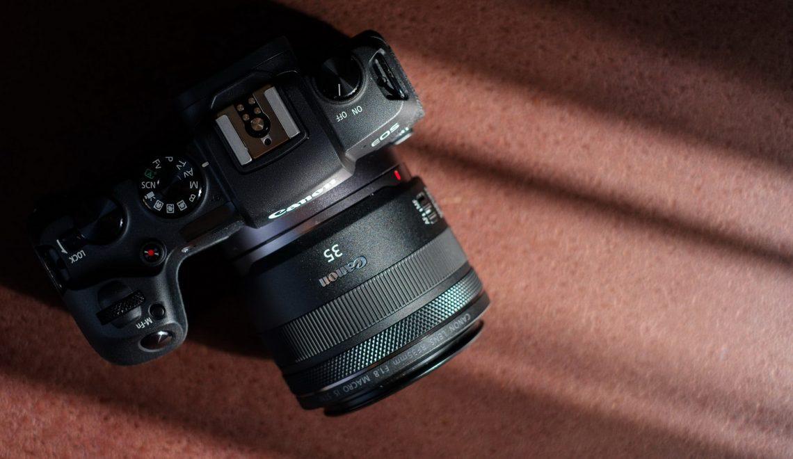 קליפים על מצלמת EOS PR של קנון