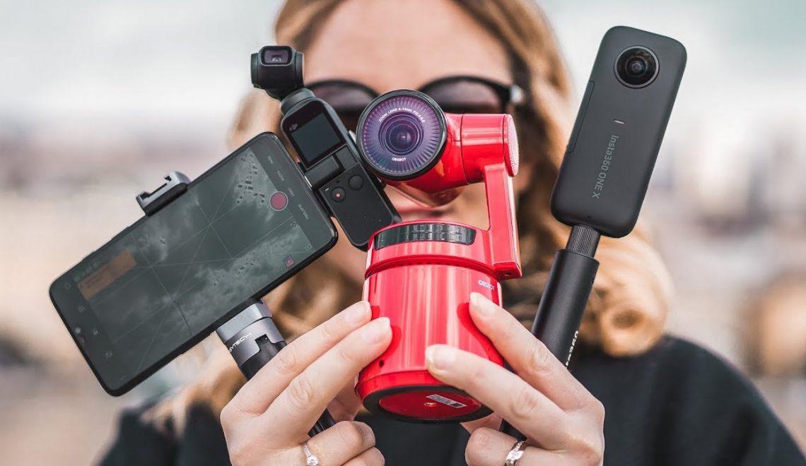 השוואה בין שלוש מערכות צילום מיוצבות בפחות מ-500 דולר