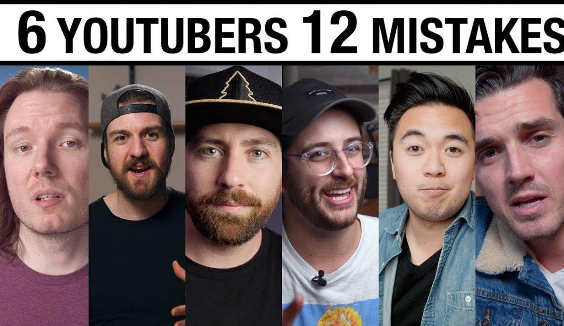 שישיה בעלי ערוצי יוטיוב מספרים על 12 הטעויות שלהם