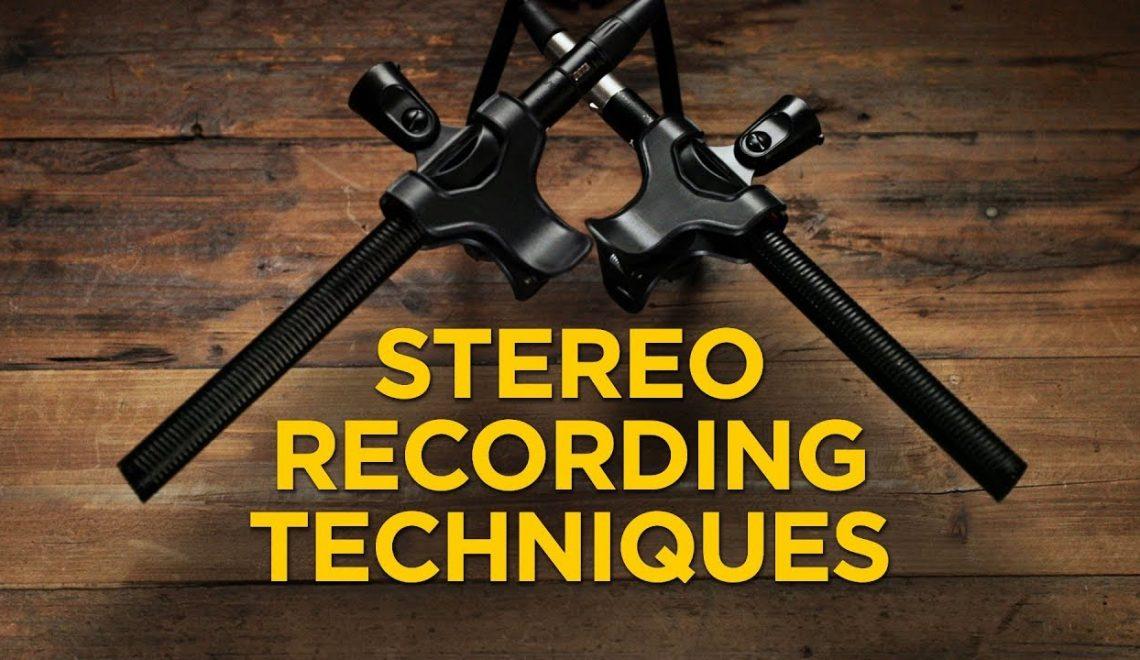 שלוש טכניקות להקלטת סאונד סטראופוני
