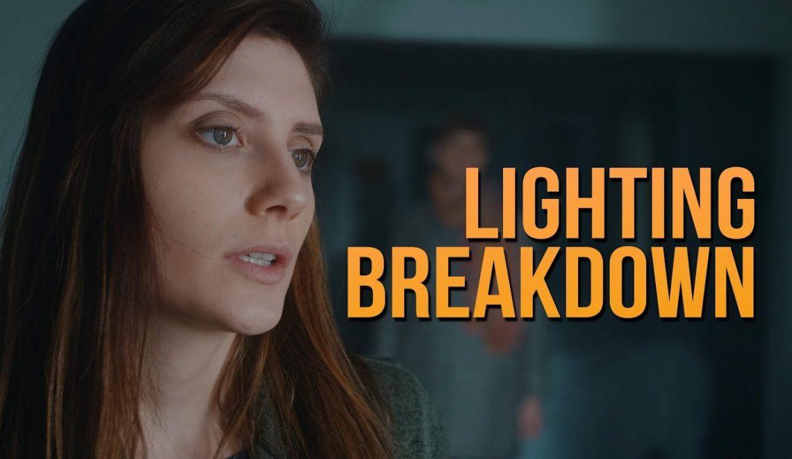 מאחורי הקלעים של סרט אימה קצר מבחינת תאורה