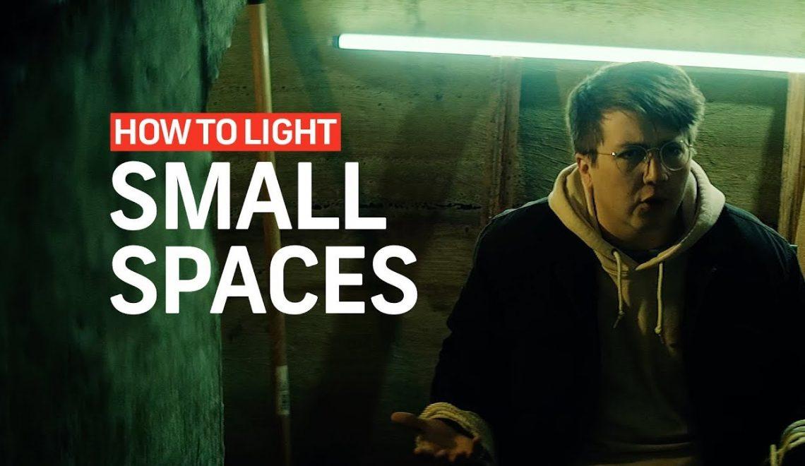 תאורה במקום קטן