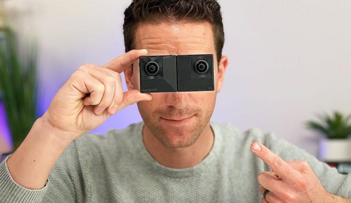 סקירה מהירה של מצלמת 360 – Insta360 EVO