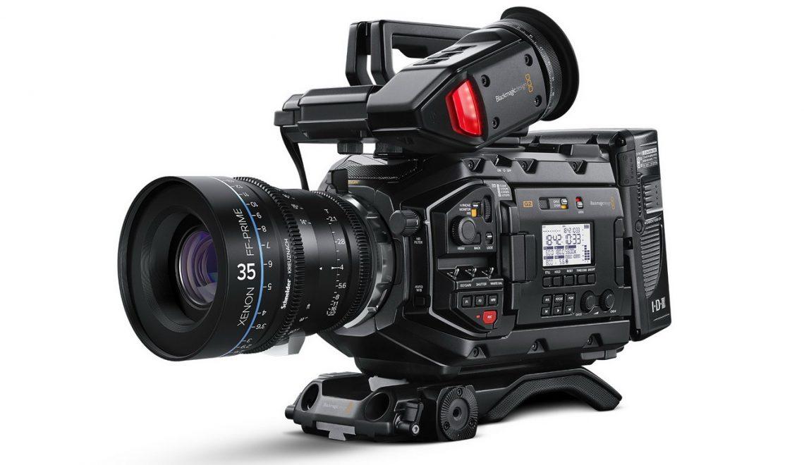 מספר בדיקות של מצלמת URSA Mini Pro G2