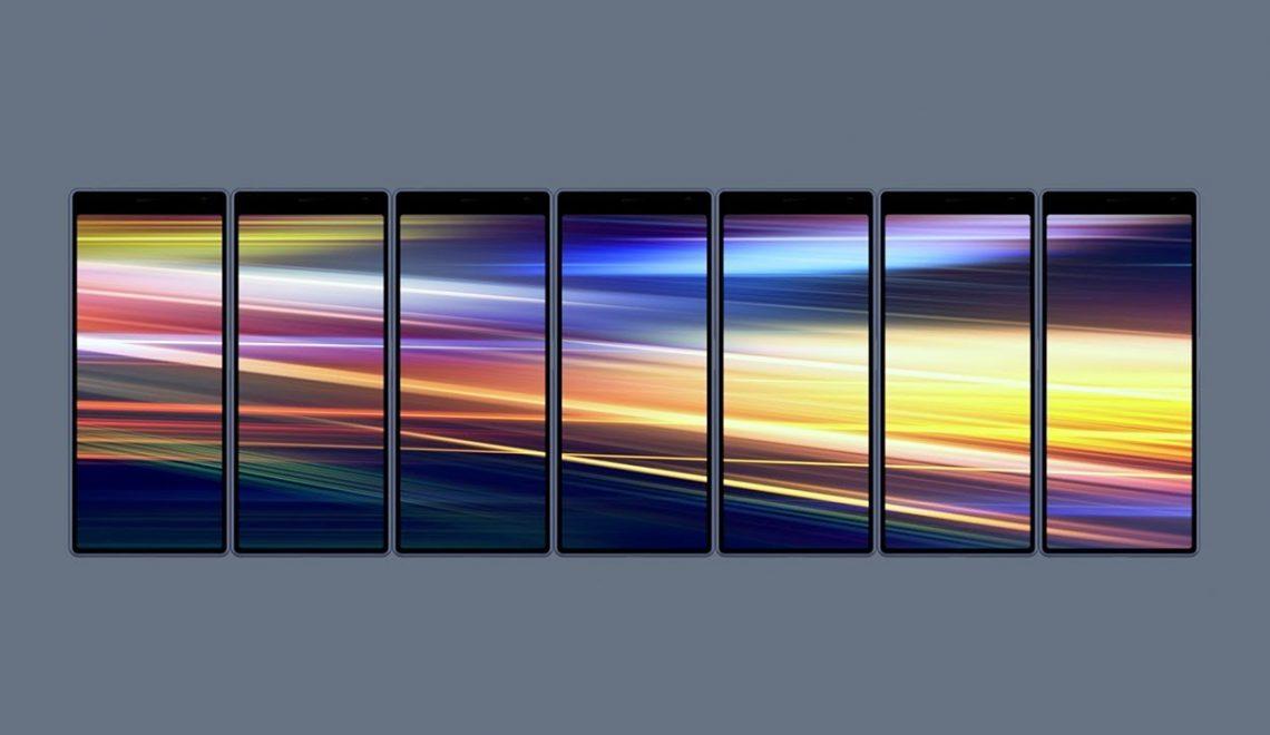 מסך הטלפון הראשון ביחס 21:9 באיכות 4k