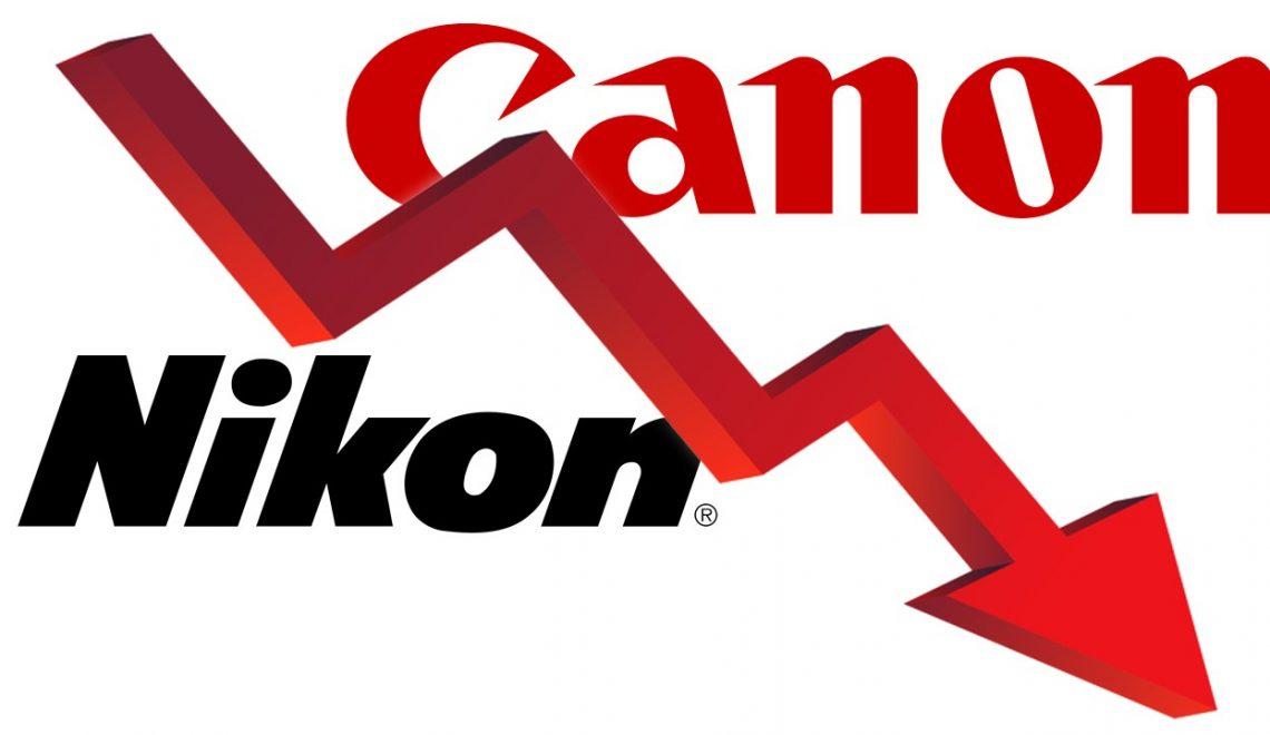המכירות של קנון וניקון ירדו ב-17%