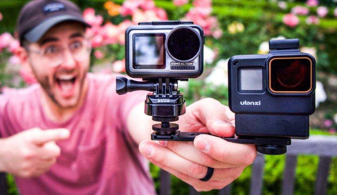 השוואה נוספת בין מצלמת האקשן של DJI ל-GoPro