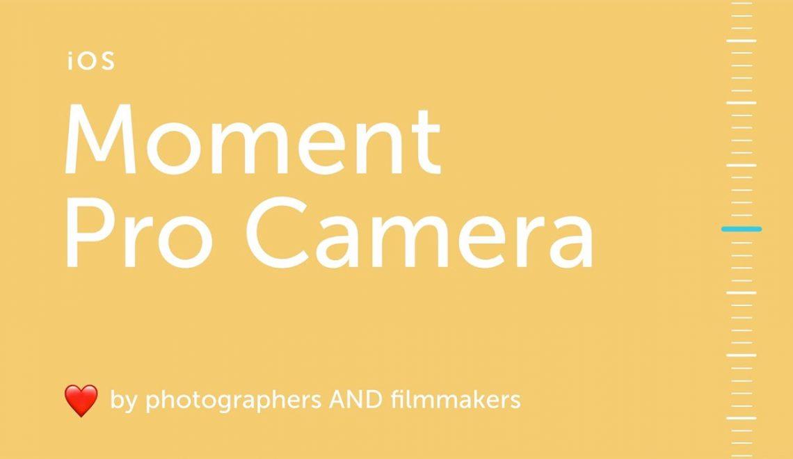 עדכון משמעותי ליישום הצילום Moment