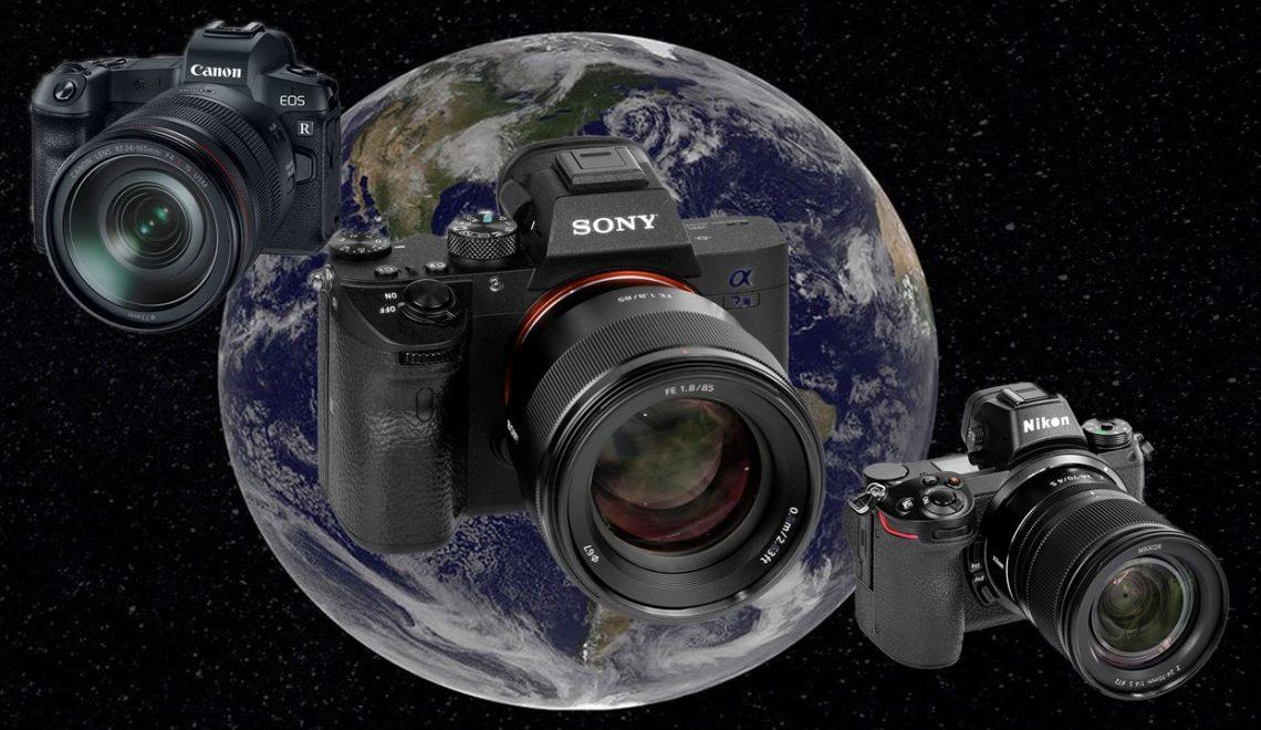 סוני עוקפת את ניקון בשוק הצילום הדיגיטלי