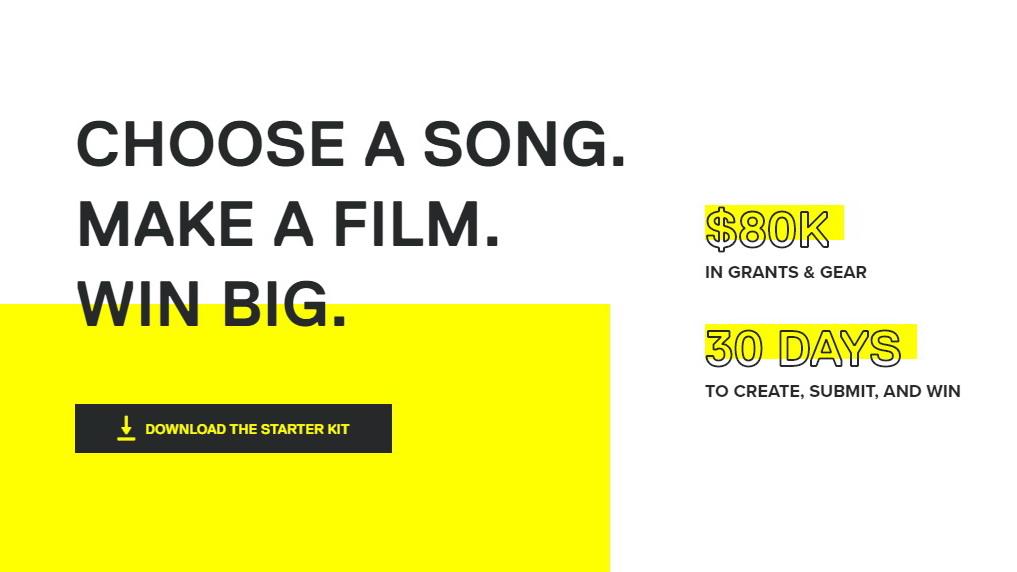 אתגר מוזיקלי – תחרות סרט קצר