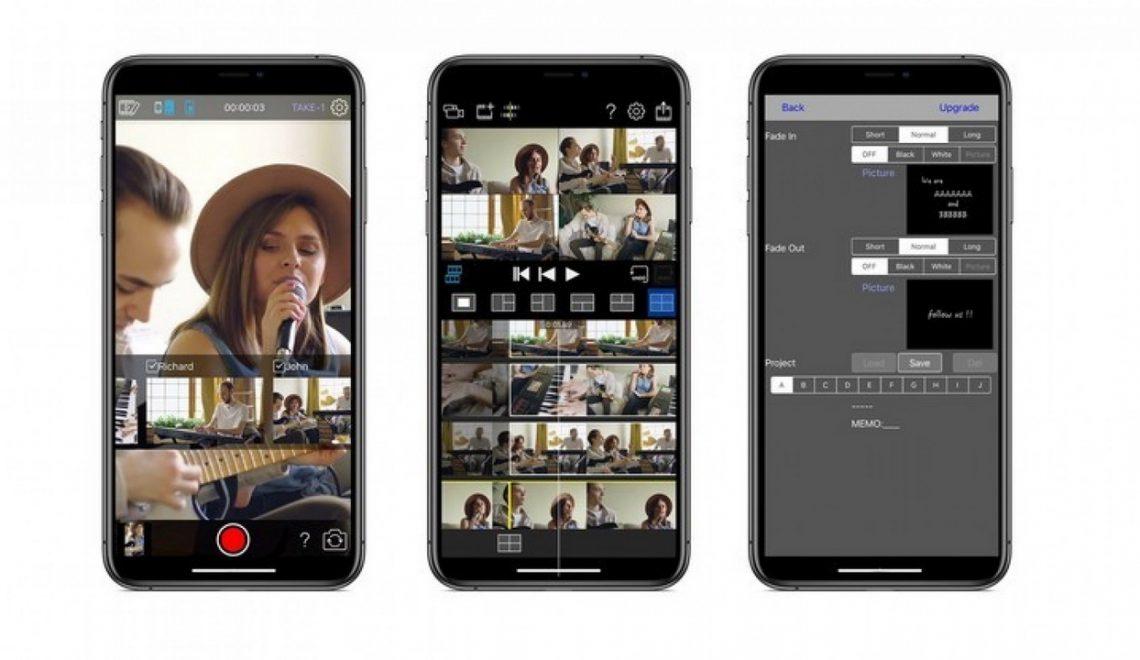 יישום iOS מאפשר צילום עם מספר מצלמות