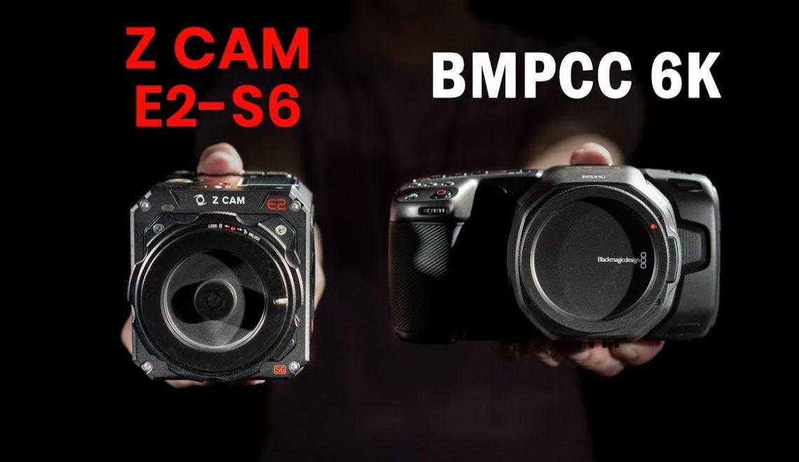 השוואה בין מצלמת E2-S6 לעומת הפוקט