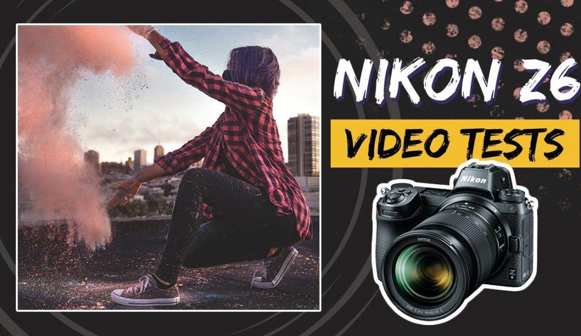 בדיקת יכולות וידאו במצלמת Z6