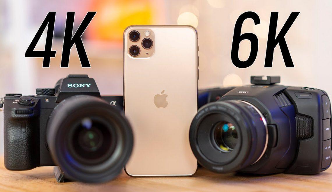 השוואה בצילום 4k – איפון 11, A7 III ופוקט 6k