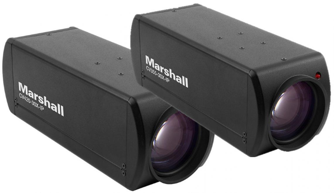 שתי מצלמות IP של Marshall