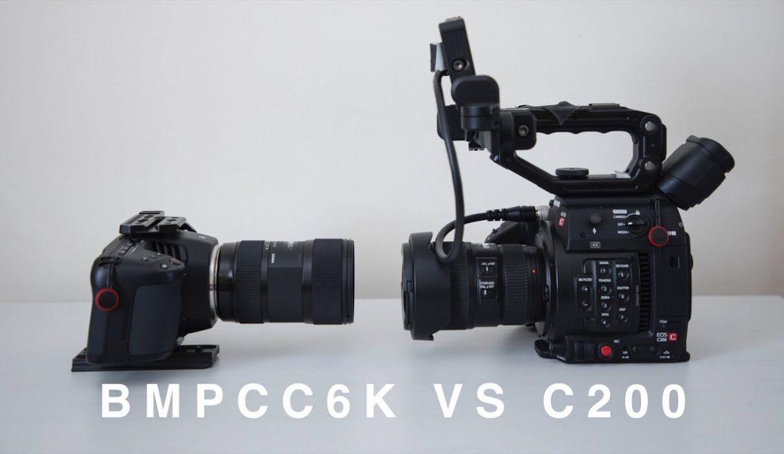 השוואה בין מצלמת C200 למצלמת פוקט 6k