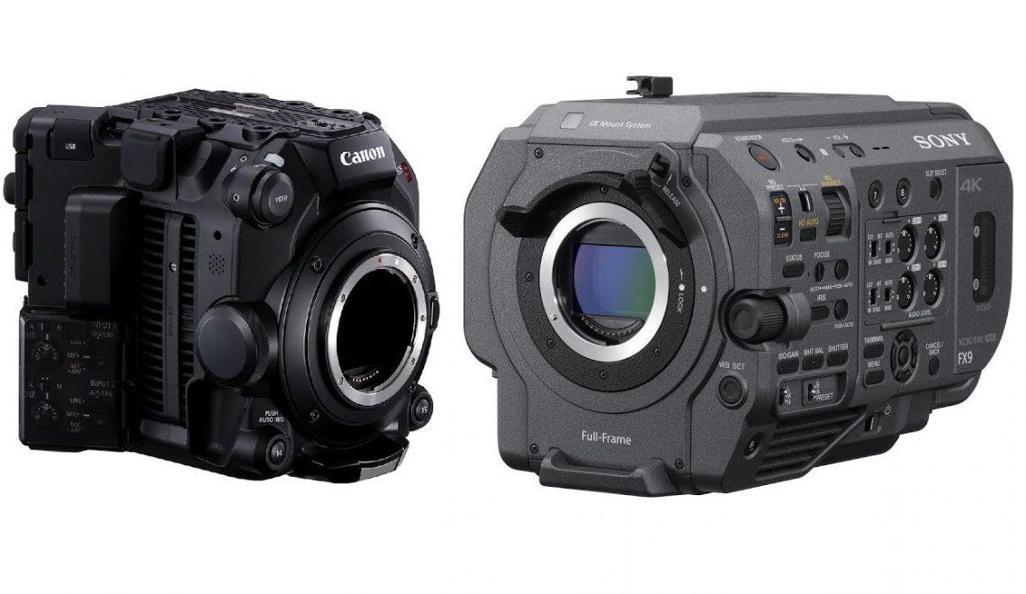 השוואה בין C500 Mark II ל-FX9