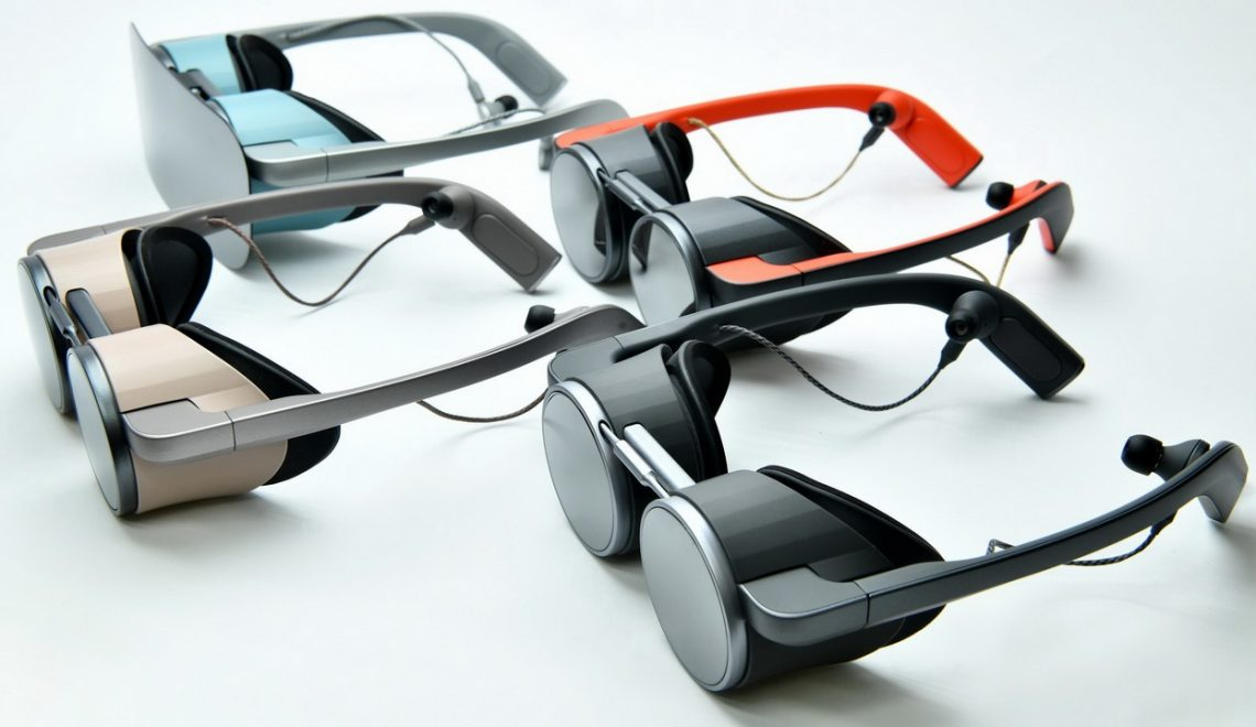 משקפי מציאות מדומה ב 4k