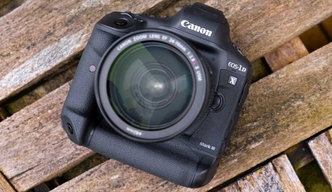 סדרת סרטים של EOS-1Dx Mark III