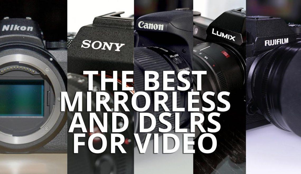 מצלמות ללא מראה / DSLR הטובות ביותר ל-2020