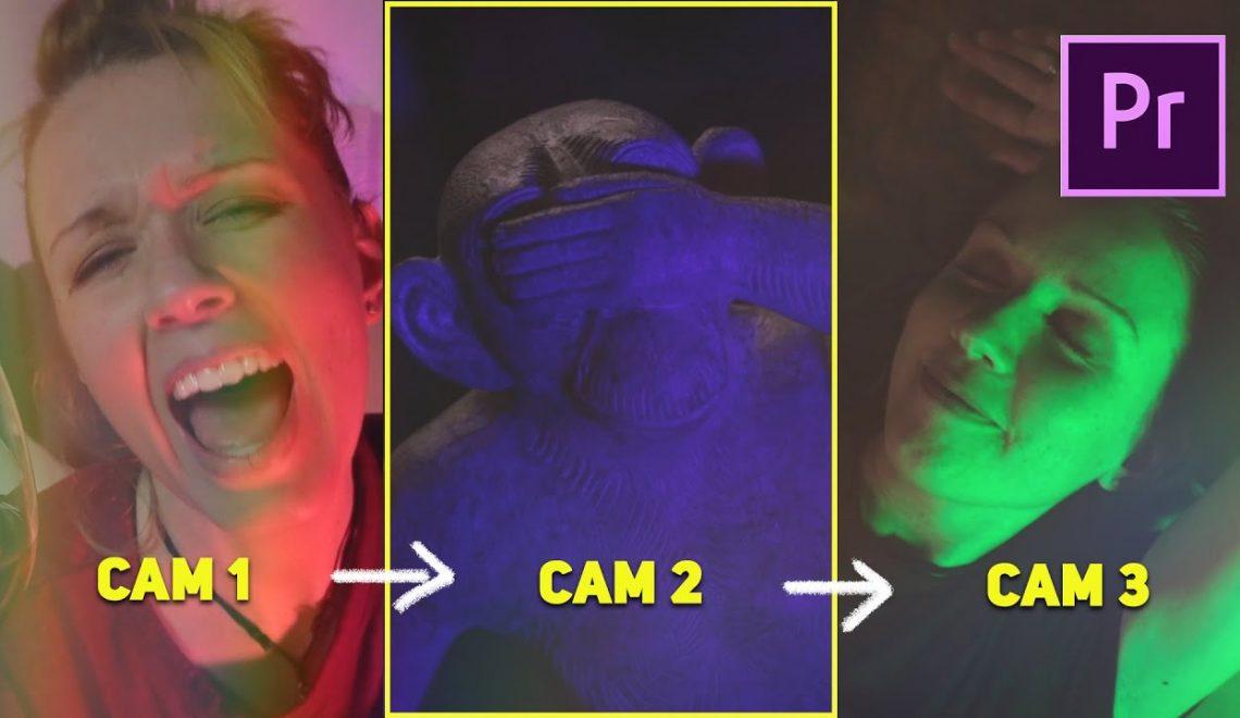 עריכת מספר מצלמות לקליפ מוסיקה