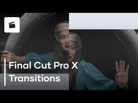 יצירת מעברים ב FCPx