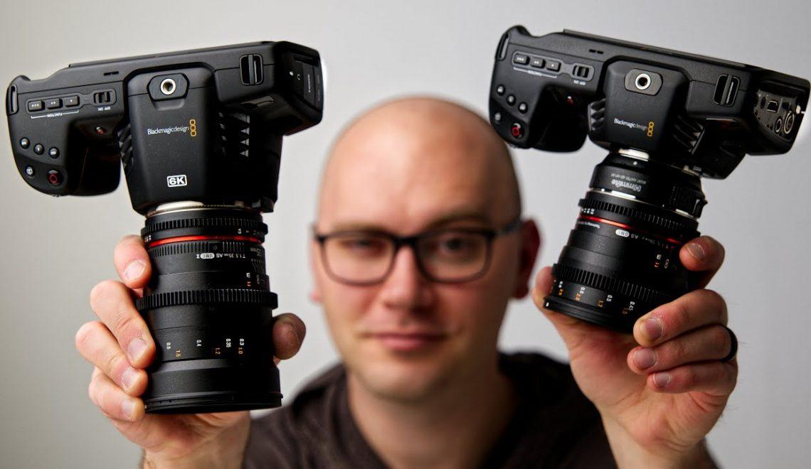 השוואה בין מצלמות הפוקט של BlackMagic