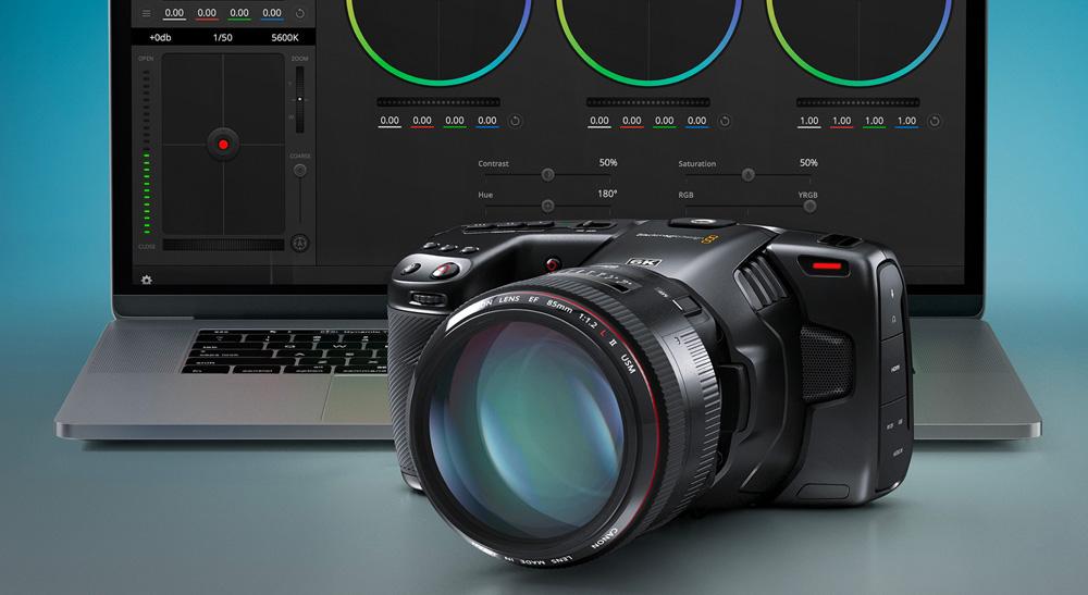 גרסה 6.9 למצלמות הפוקט של BlackMagic