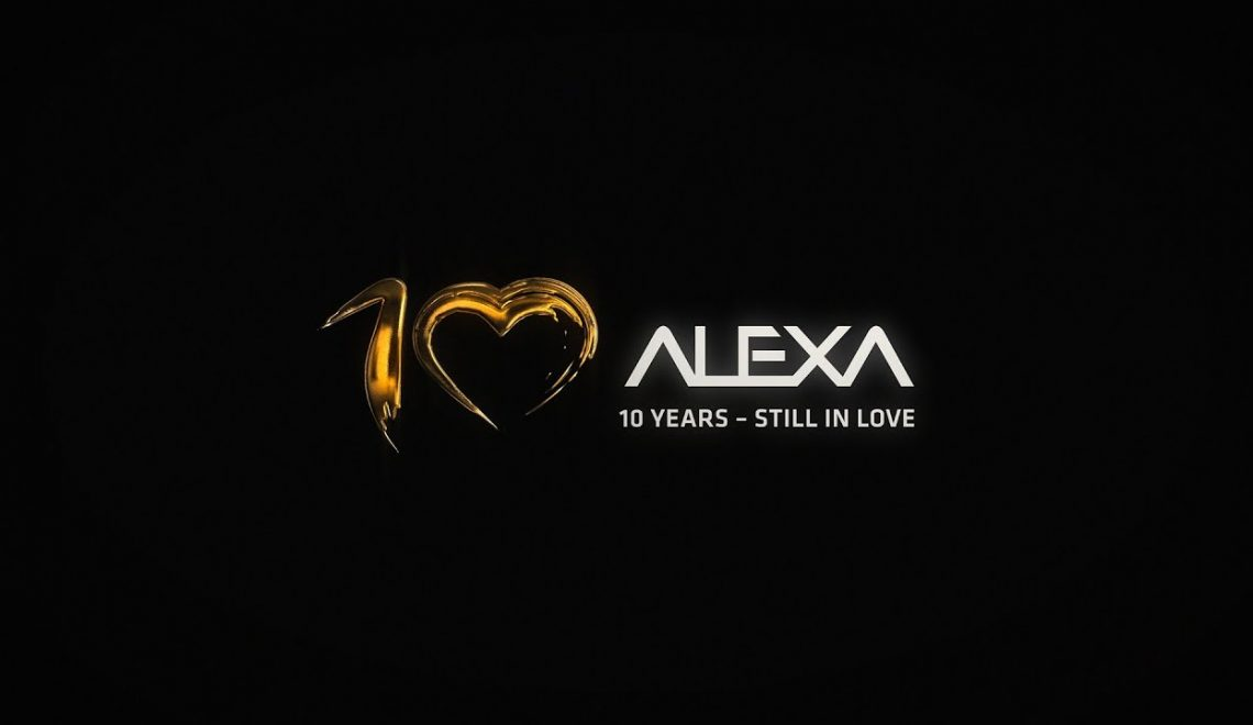 עשר שנים למצלמות Alexa