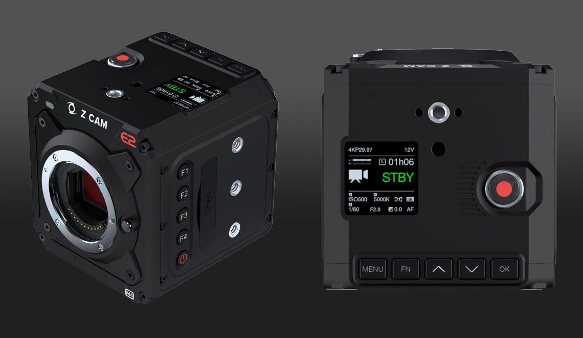 מצלמת חדשה ל Z CAM והפחתת מחירים