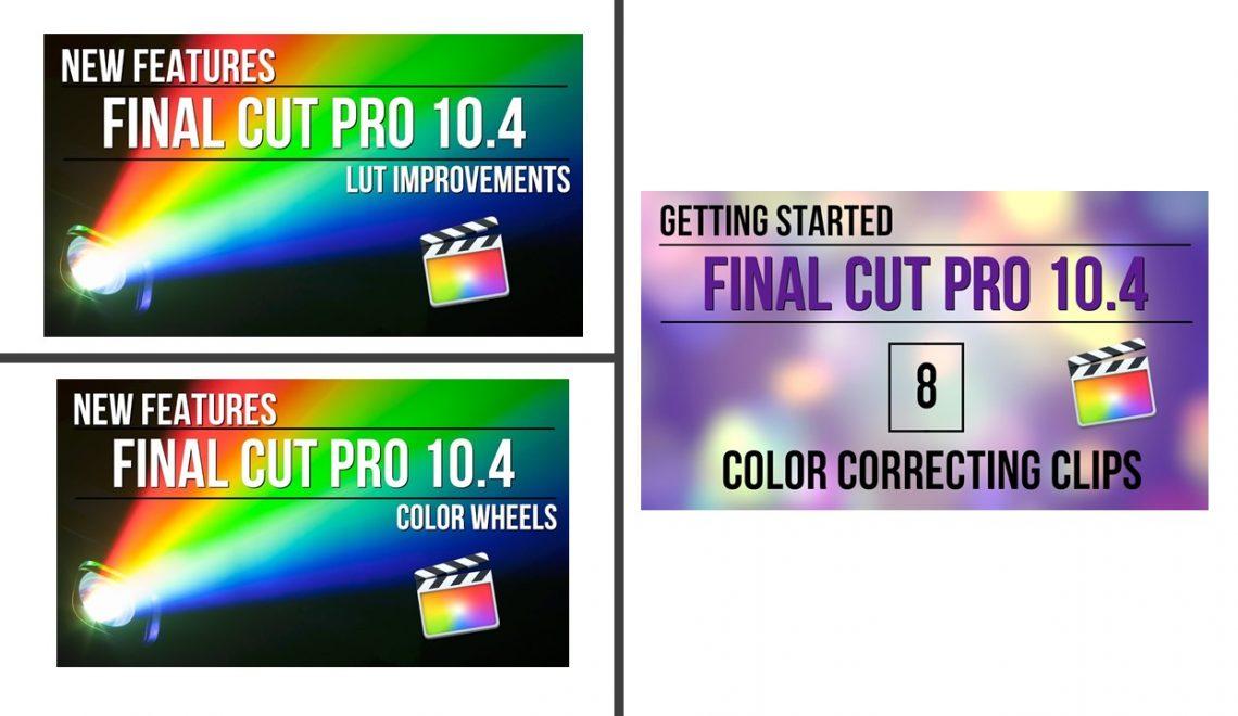 עבודה עם צבע ב FCPx