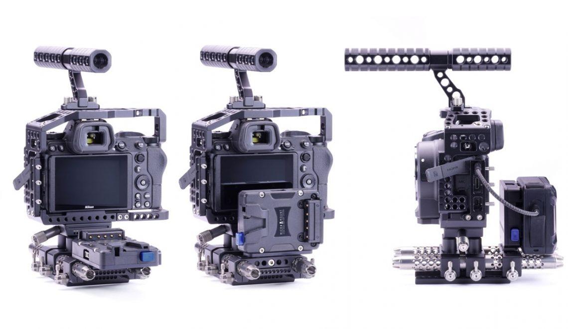 אפשרות חיבור סוללת V קטנות למצלמות