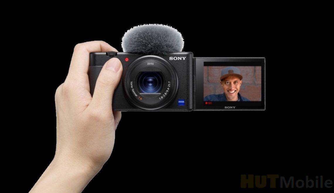 מצלמת בלוגים חדשה 4k של סוני