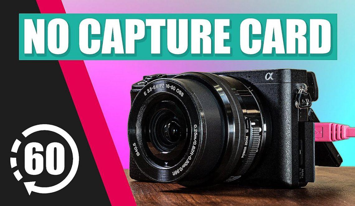 כיצד להשתמש במצלמות סוני כמצלמות רשת