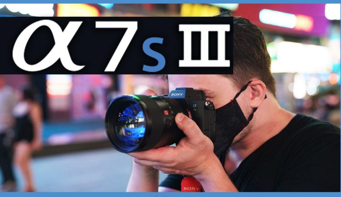 קורנה בניו יורק בלילה עם a7S III
