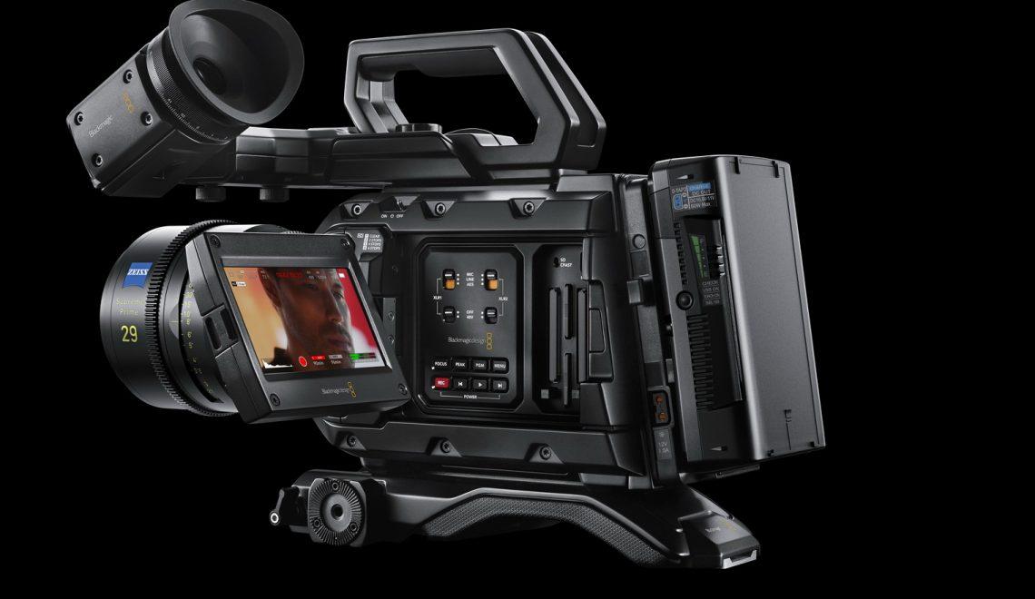 עדכון למצלמות URSA Mini Pro 12K