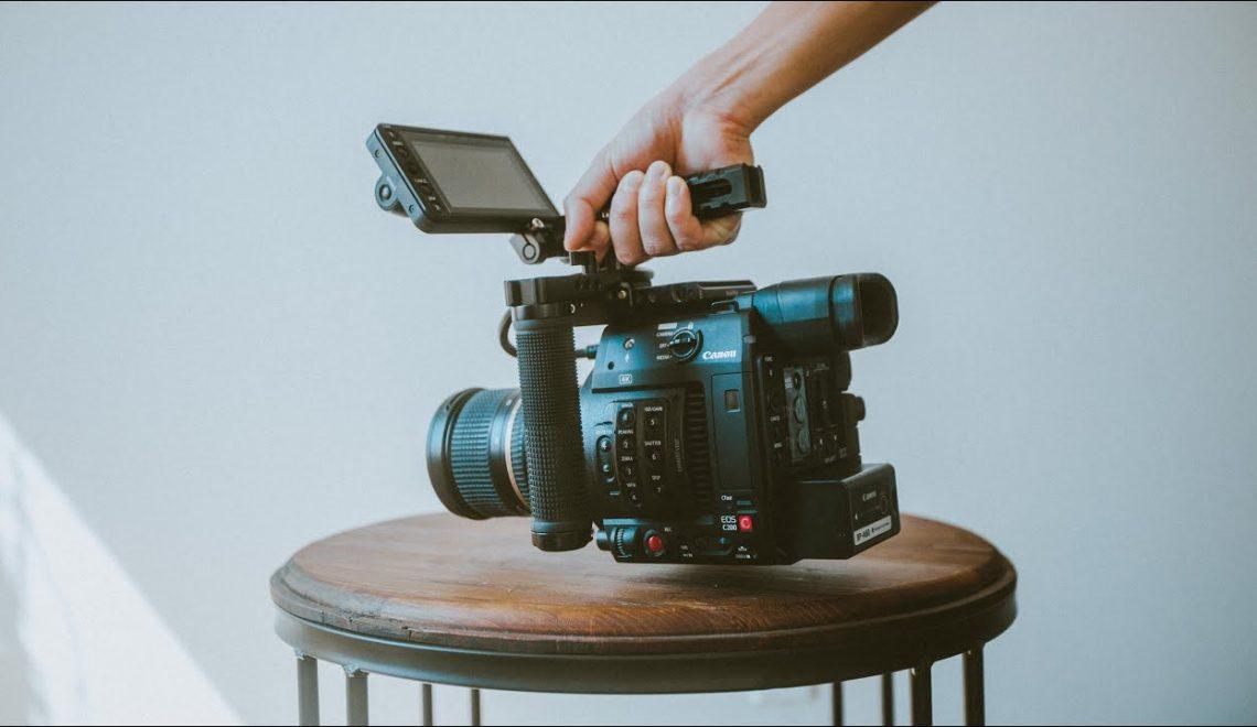 צילום פרסומת עם EOS C200 ב-RAW