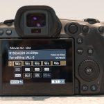 על מצבי הצילום 4/8k ו-RAW של EOS R5
