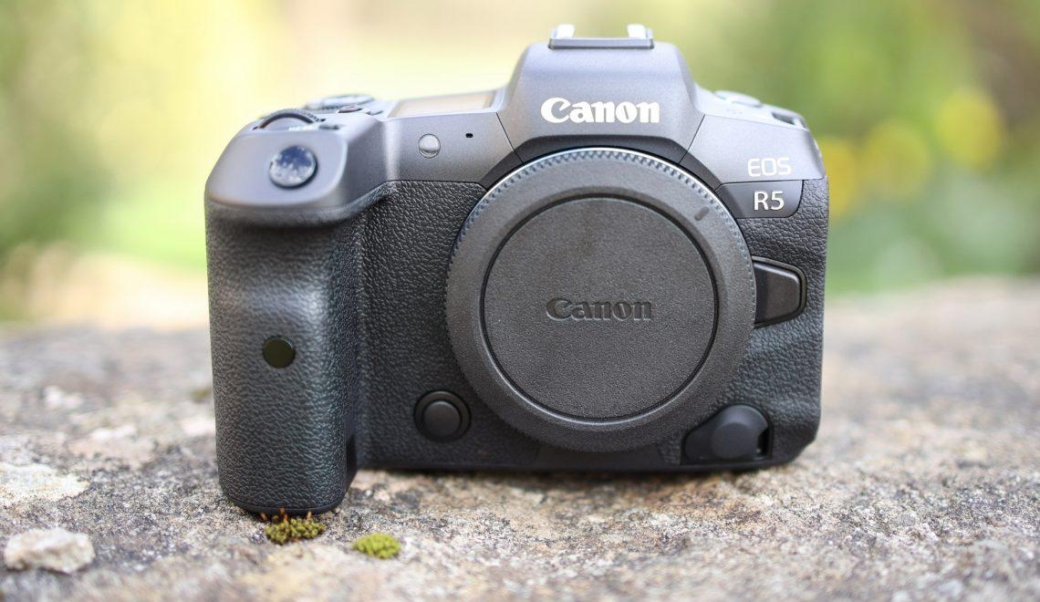 הושקה מצלמת EOS R5 של קנון