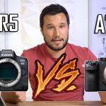 השוואה בין EOS R5 ל-Alpha a7s III