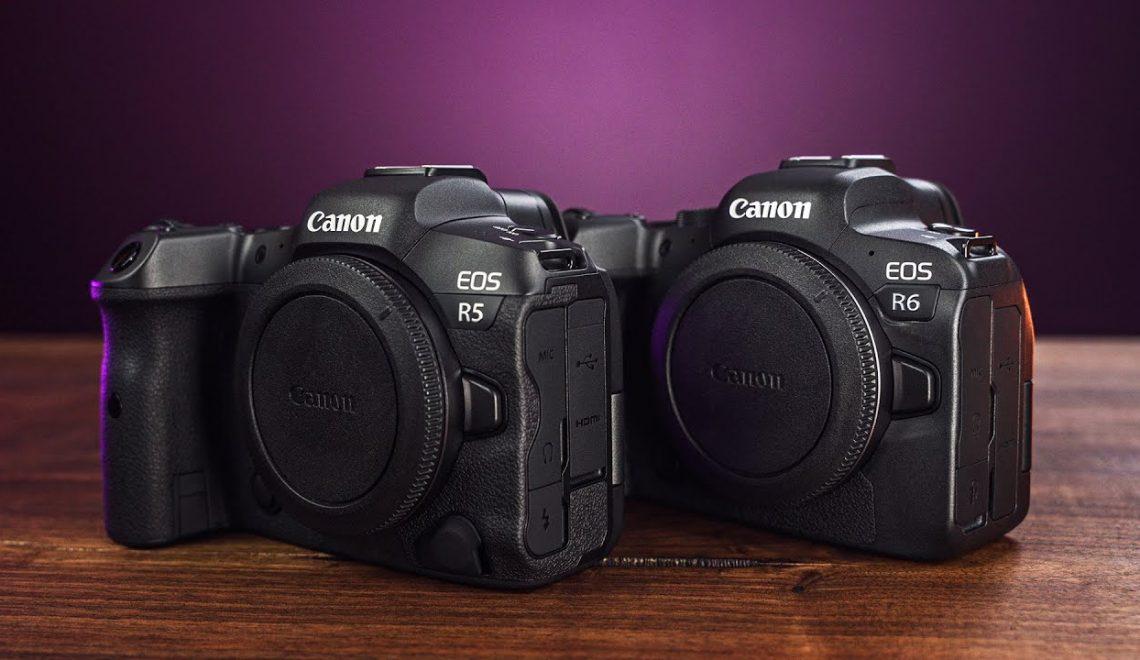 למי מיועדות המצלמות EOS R5 EOS R6